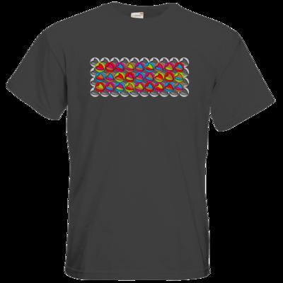 Motiv: T-Shirt Premium FAIR WEAR - Popart Mütze