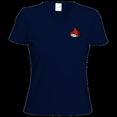 Motiv: T-Shirt Damen V-Neck Classic - onlineZwerg