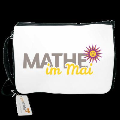 Motiv: Schultertasche - Mathe im Mai 2020