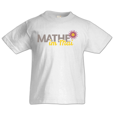 Motiv: Kids T-Shirt Premium FAIR WEAR - Mathe im Mai 2020