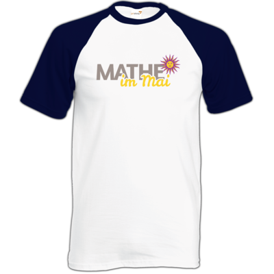 Motiv: TShirt Baseball - Mathe im Mai 2020