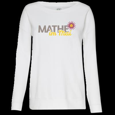Motiv: Girlie Crew Sweatshirt - Mathe im Mai 2020