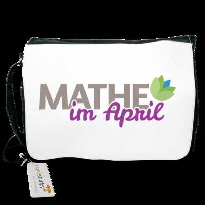 Motiv: Schultertasche - Mathe im April 2020