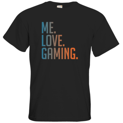 Motiv: T-Shirt Premium FAIR WEAR - Me.Love.Gaming.