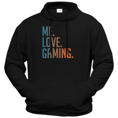Motiv: Hoodie Premium FAIR WEAR - Me.Love.Gaming.