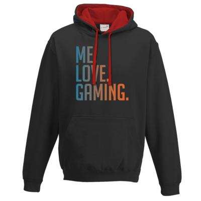 Motiv: Two-Tone Hoodie - Me.Love.Gaming.