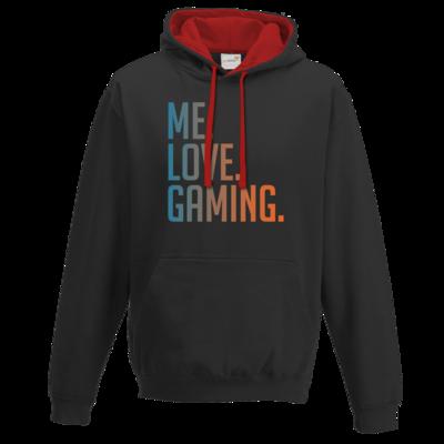 Motiv: Two-Tone Hoodie - Me.Love.Gaming.