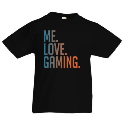 Motiv: Kids T-Shirt Premium FAIR WEAR - Me.Love.Gaming.