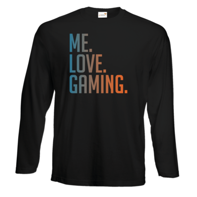 Motiv: Exact 190 Longsleeve FAIR WEAR - Me.Love.Gaming.