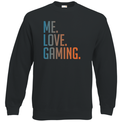 Motiv: Sweatshirt Classic - Me.Love.Gaming.