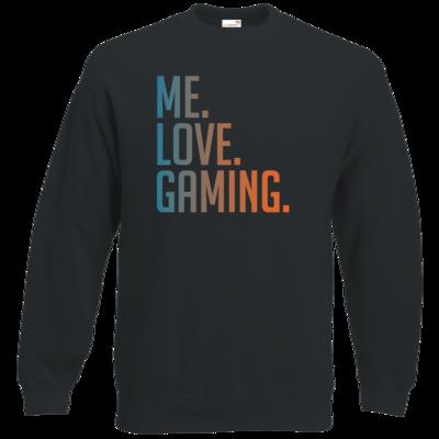Motiv: Sweatshirt Classic - Me.Love.Gaming.