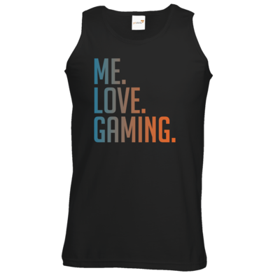 Motiv: Athletic Vest - Me.Love.Gaming.