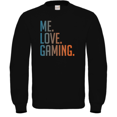 Motiv: Sweatshirt FAIR WEAR - Me.Love.Gaming.