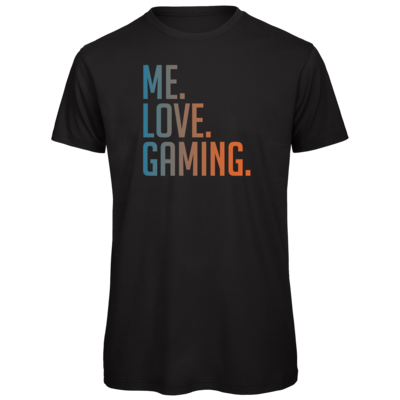 Motiv: Organic T-Shirt - Me.Love.Gaming.