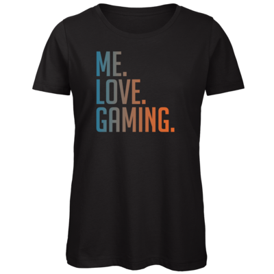 Motiv: Organic Lady T-Shirt - Me.Love.Gaming.