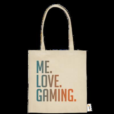 Motiv: Baumwolltasche - Me.Love.Gaming.