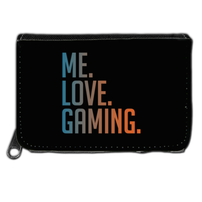 Motiv: Geldboerse - Me.Love.Gaming.