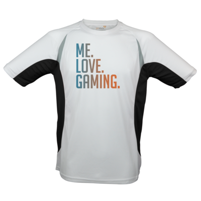 Motiv: Laufshirt Running T - Me.Love.Gaming.