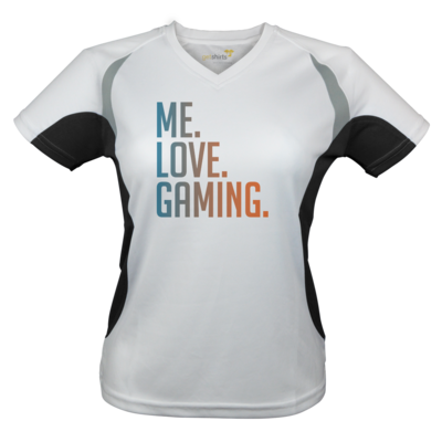 Motiv: Laufshirt Lady Running T - Me.Love.Gaming.