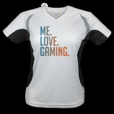 Motiv: Laufshirt Lady Running T - Me.Love.Gaming.