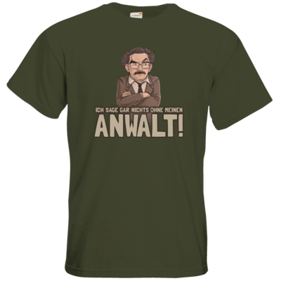 Motiv: T-Shirt Premium FAIR WEAR - Feuerflieg - Anwalt