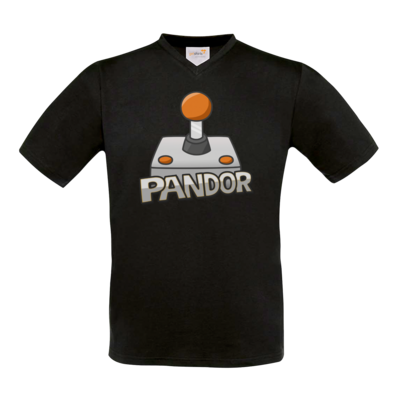 Motiv: T-Shirt V-Neck FAIR WEAR - Pandor Logo
