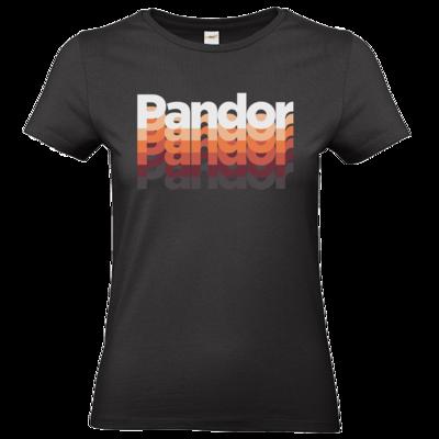 Motiv: T-Shirt Damen Premium FAIR WEAR - Pandor Schriftzug20