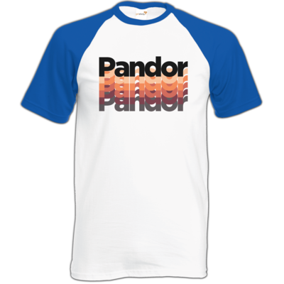 Motiv: TShirt Baseball - Pandor Schriftzug20