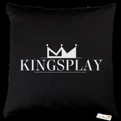 Motiv: Kissen Baumwolle - Kingsplay