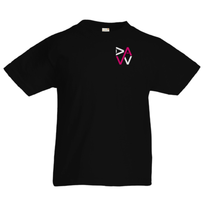 Motiv: Kids T-Shirt Premium FAIR WEAR - DaW-Logo Pink