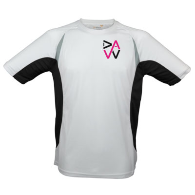 Motiv: Laufshirt Running T - DaW-Logo Pink