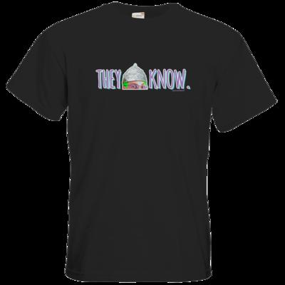 Motiv: T-Shirt Premium FAIR WEAR - They Know...