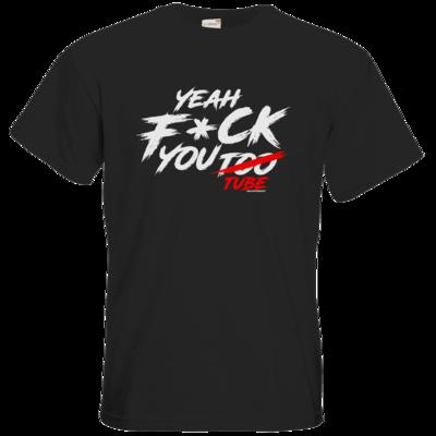 Motiv: T-Shirt Premium FAIR WEAR - Yeah U2BE