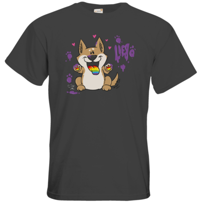 Motiv: T-Shirt Premium FAIR WEAR - Bisu (Friends) - Liebe
