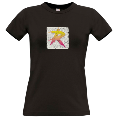 Motiv: T-Shirt Damen Premium FAIR WEAR - Comic R