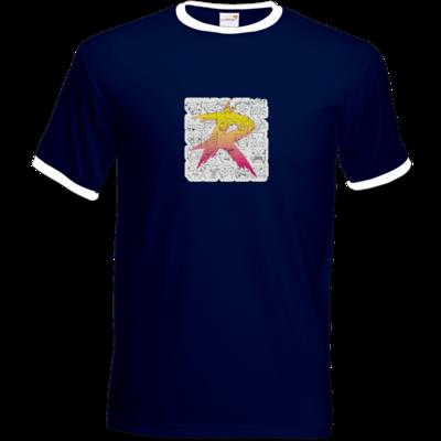 Motiv: T-Shirt Ringer - Comic R