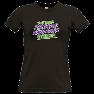 Motiv: T-Shirt Damen Premium FAIR WEAR - Patschehändchen