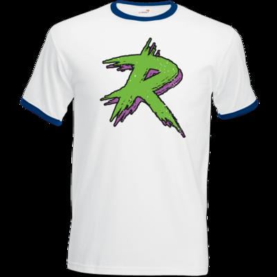 Motiv: T-Shirt Ringer - The R