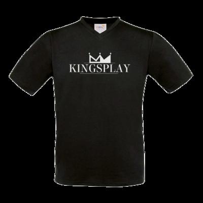 Motiv: T-Shirt V-Neck FAIR WEAR - Kingsplay
