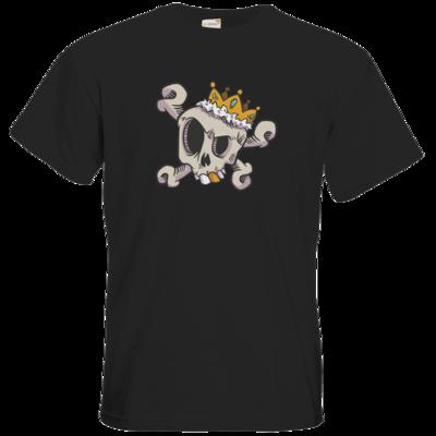 Motiv: T-Shirt Premium FAIR WEAR - King Skull