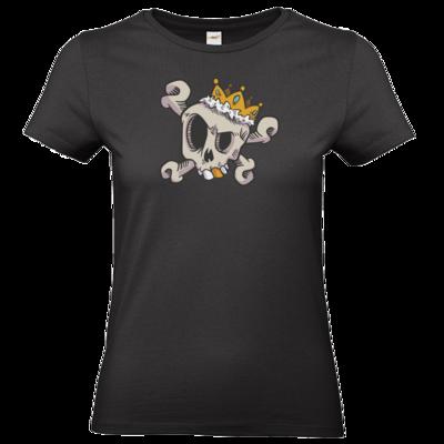 Motiv: T-Shirt Damen Premium FAIR WEAR - King Skull