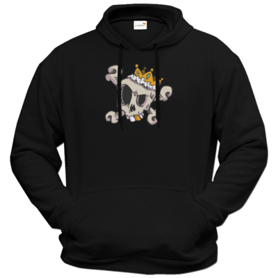 Motiv: Hoodie Premium FAIR WEAR - King Skull