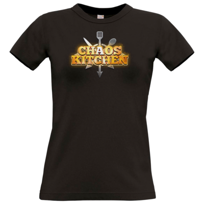 Motiv: T-Shirt Damen Premium FAIR WEAR - Chaos Kitchen Metal