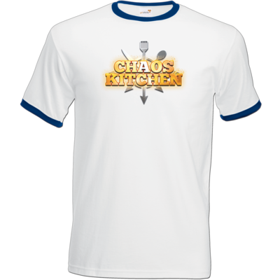 Motiv: T-Shirt Ringer - Chaos Kitchen Metal