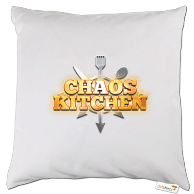 Motiv: Kissen - Chaos Kitchen Metal