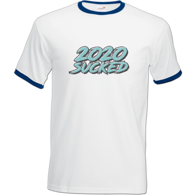 Motiv: T-Shirt Ringer - 2020 sucked