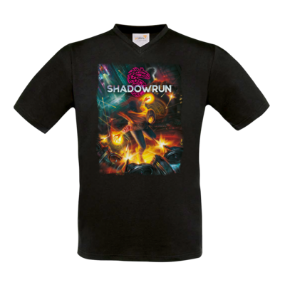 Motiv: T-Shirt V-Neck FAIR WEAR - Shadowrun (r)  Cover