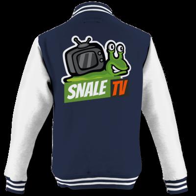 Motiv: College Jacke - snaleTV Logo