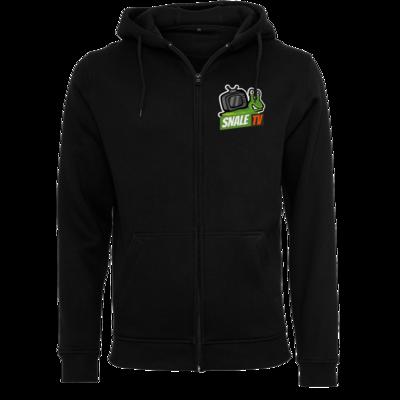 Motiv: Heavy Zip-Hoodie - snaleTV Logo
