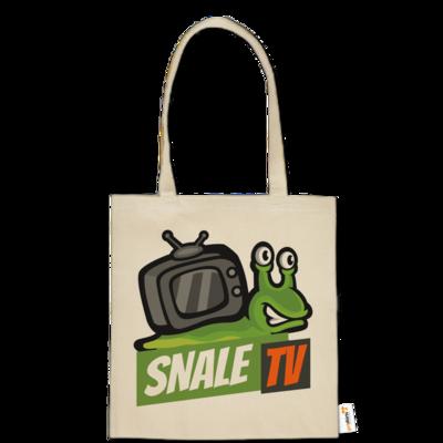 Motiv: Baumwolltasche - snaleTV Logo